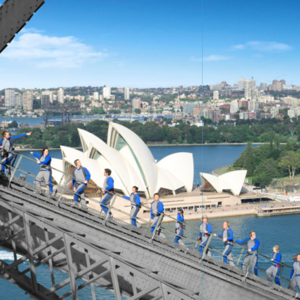 HCTC Passport Pages - Recently Planned Sydney Bridge Climb