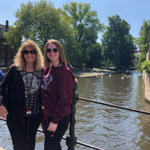 HCTC mother-daughter trip to Bruges