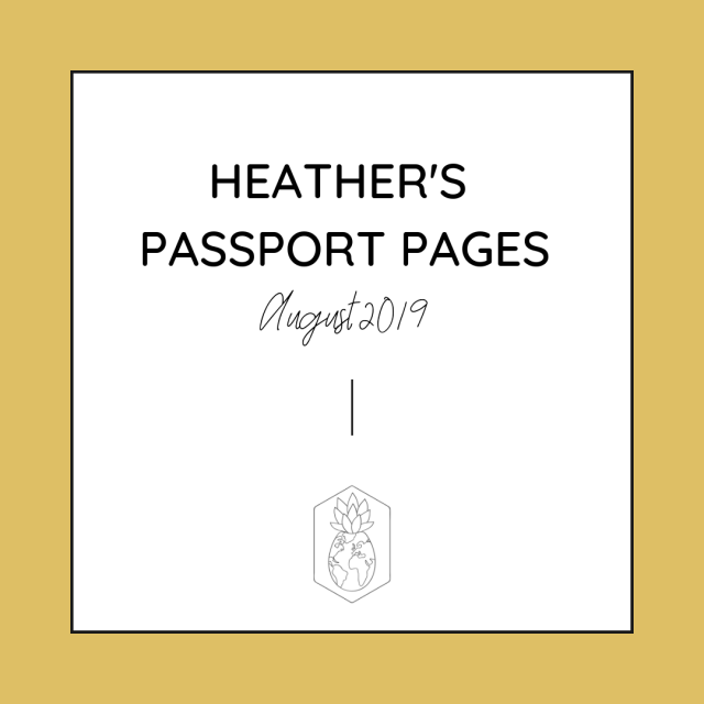 HCTC Passport Pages August 2019