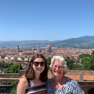 HCTC - Grandmother and granddaughter vacation to Italy