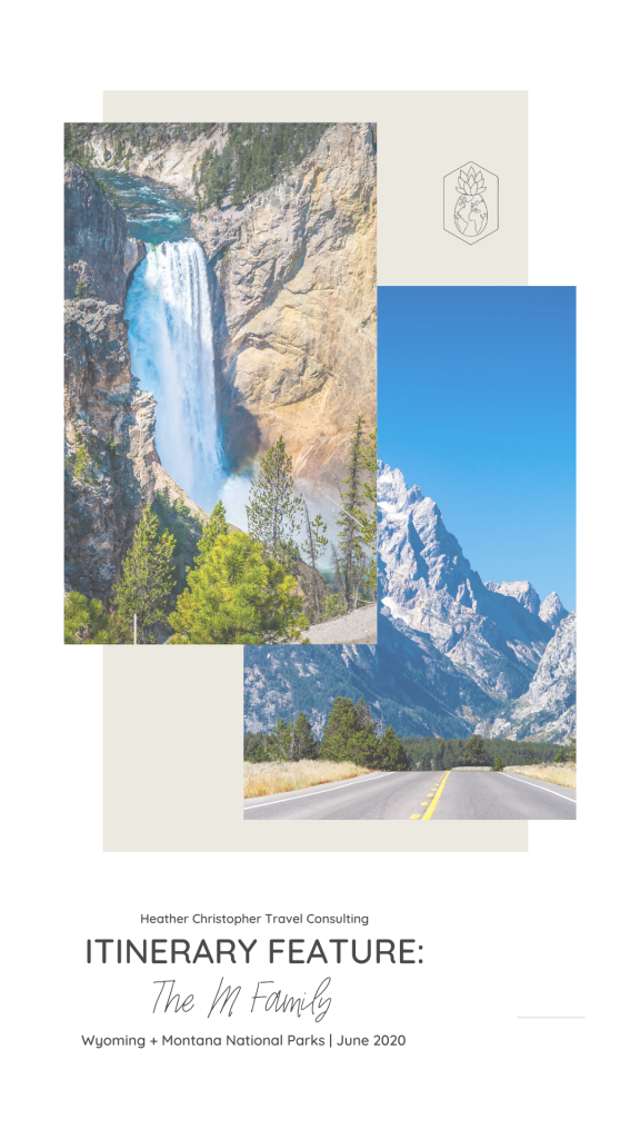 HCTC Family Itinerary to the National Parks