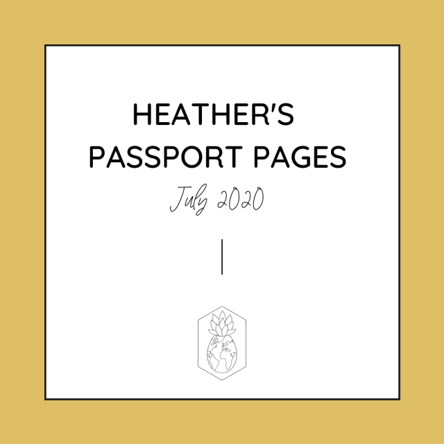 HCTC Passport Pages July Updates
