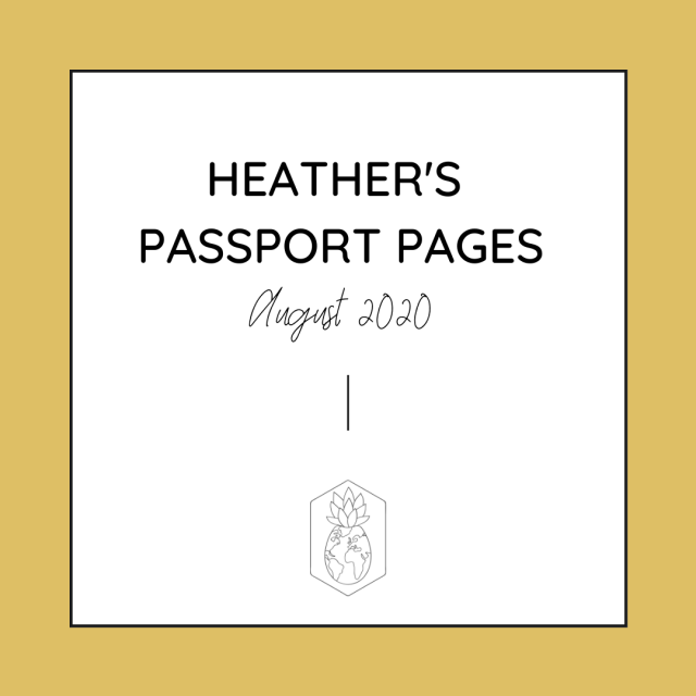 HCTC Passport Pages August Updates