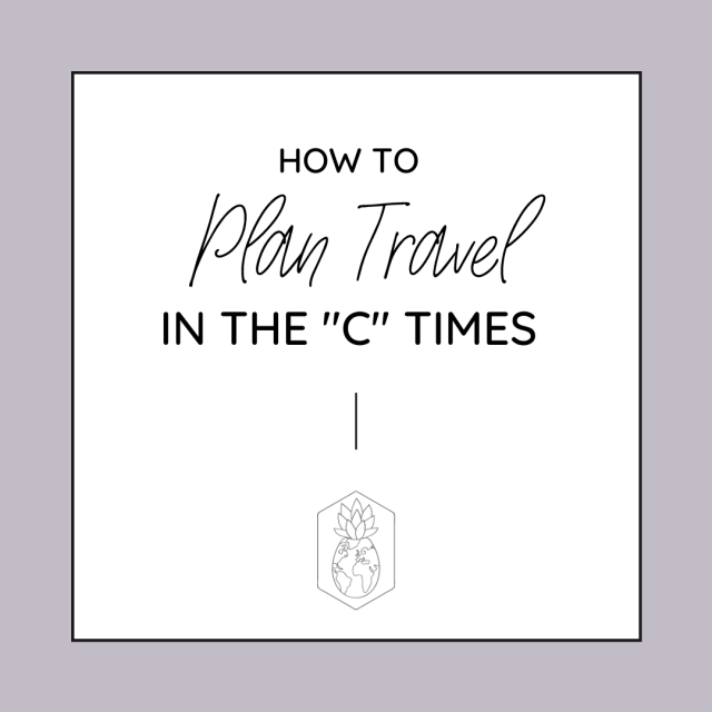 How to Plan Travel in COVID times
