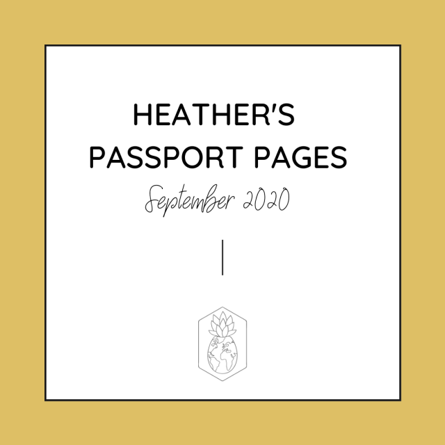 HCTC Passport Pages September Updates